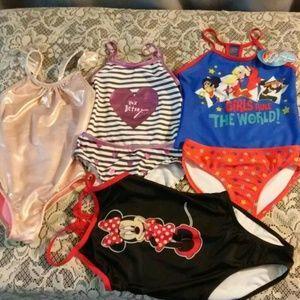 Other - Bundle Girls Swim Size 6/6X